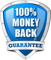 100% Money Back Service Guarantee image